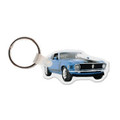 Mustang Blue Keychain (4260)