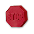Stop Sign Pencil Top Eraser (4266)