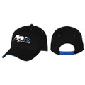 Mustang Black/Blue Hat (4225)