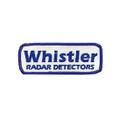 Retro Whistler Radar Detectors Patch (4299)