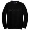 Roush Black/Black Sweatshirt 2X (1481)