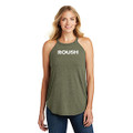 ROUSH Ladies Military Green Frost Tank Top (4339)
