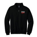 Roush Racing Black 1/4 Zip Sweatshirt (4370)