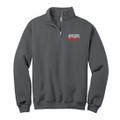 Roush Racing Charcoal Gray 1/4 Zip Sweatshirt (4371)
