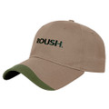 Roush Warm Taupe/Military Green Bargain Wave Hat (4380)