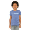 Roush Performance Heather Blue Youth Tee (4400)