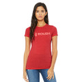 Roush Performance Ladies Red Frost Tee (4387)