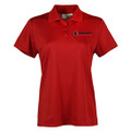 Roush Performance Ladies Red Polo (4390)