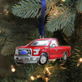 Ford F-150 Red Truck Ornament (4441)