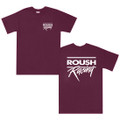 Roush Racing Tee-burgundy (1511)