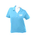 Roush Racing Surf Blue Ladies Polo shirt XXL-2XP (1597)
