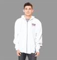 Roush Racing Mens White Hoodie (1734)