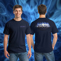 ROUSH Navy Flame Tee (1813)