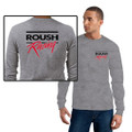 Roush Racing Heather Gray Long Sleeve Shirt (1870)