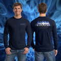 ROUSH Navy Flame Long Sleeve (1890)