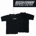 Roush Fenway Mens Black Polo (1997)