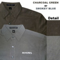 Roush Pattern Long Sleeve Dress Shirt (1672)