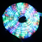 LED 10M Christmas Multi Colours Rope Lights with 8 Functions (36V Safe Voltage)