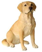 54CM Labrador Dog Polyresin Garden and Home Decor