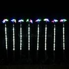 8 Pcs 47CM LED Christmas Star Pathway Garden Lights