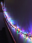 LED Multi Colours Firecracker Chaser String Christmas Lights