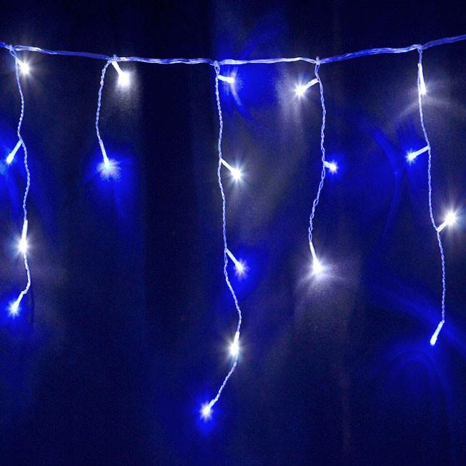 Vickysuncom Christmas Lights 85m 200 Led Blue And White