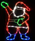 Animated 46CM LED Santa Christmas Motif Lights (36V Safe Voltage)