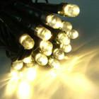 LED Solar Warm White Christmas Fairy Lights