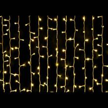 LED Christmas Curtain Warm White Lights