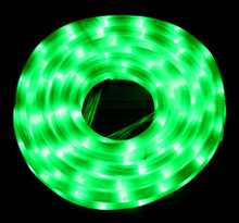 [Milky Tube] LED 10M Christmas Milky Green Rope Lights
