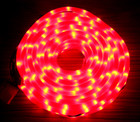 LED 20M Christmas Milky Red Rope Lights with 8 Functions (36V Safe Voltage)