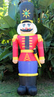 240CM Inflatable Nutcracker Christmas Display with LED Lights