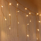 292 LED Warm Glow Icicle Lights