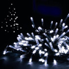 14M 200 LED White Christmas Fairy Lights