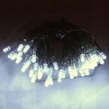 4M 40 LED White Battery Fairy Lights