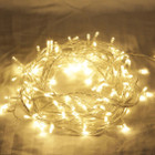 55M 600 LED Warm White Christmas Fairy Lights with 8 Functions & Memory