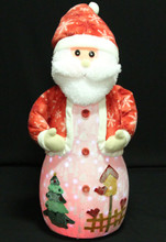 98CM Santa Claus Snowing Ornament with Christmas Songs