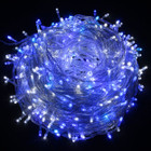 600 LED Blue and White Christmas Fairy Lights