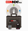 ConneXt Pack, 3 Units QRAE 3 LEL, O2, CO, H2S Pumped, 1 EchoView Host, Accessories