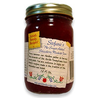 Stephanie's No Sugar Added Strawberry Rhubarb Jam