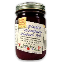 Rhoda's Strawberry Rhubarb Jam