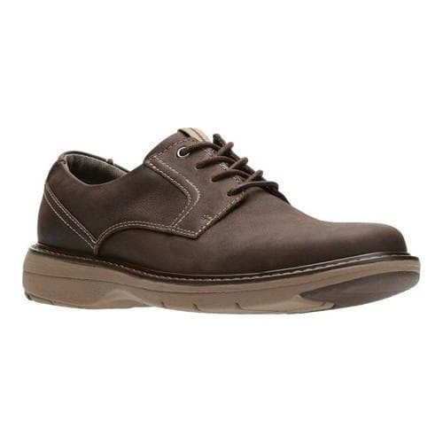 look for release date: various design Clarks Cushox Pace Dark Brown Nubuck