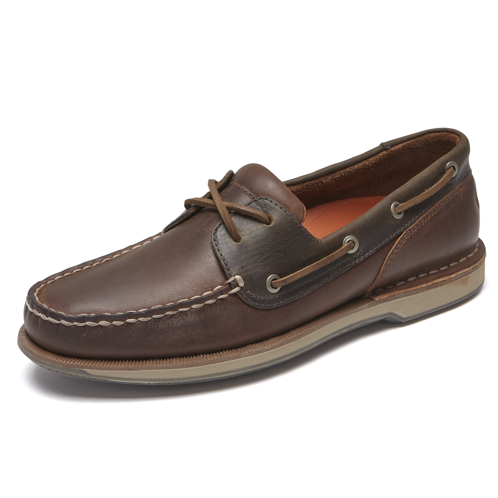 Rockport Perth Tan Leather
