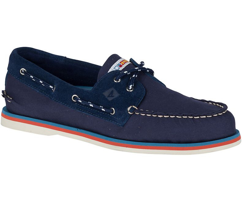 65b9d7ef0103 ... Sperry Top-Sider Authentic Original Nautical Navy. Navy. Navy. Click to  enlarge