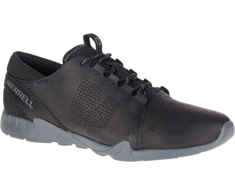 4e97b59715fce Merrell Versent Kavari Lace Leather Black. Your Price: $69.95 (You save  $30.05). Black