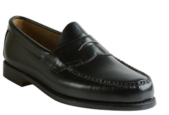 31d3c302076 G.H. Bass   Co. Weejuns Logan Black - Bennie s Shoes