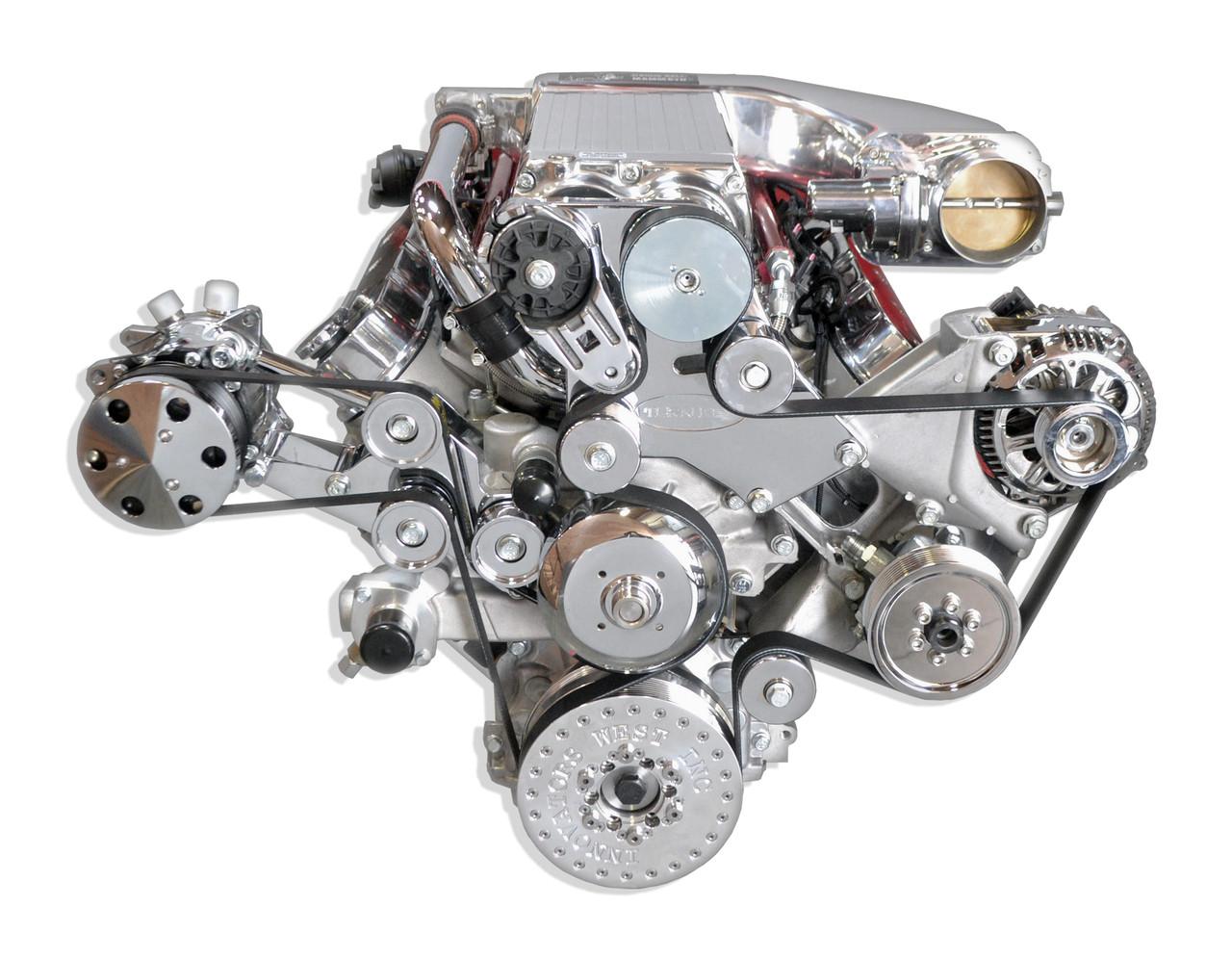 Turn Key Engine 887003 LS7 7 0L 820 HP Turn Key Supercharged Assembly -  Street