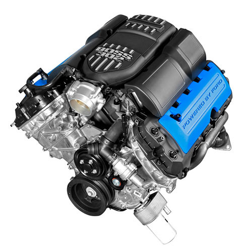 Ford 5 0L TI-VCT 4V Mustang Boss 302 Crate Engine - Off Road