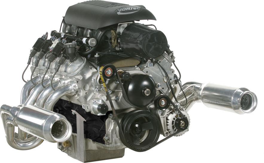 LS327 5 3L 350 HP Turn Key Engine Assembly - Off Road