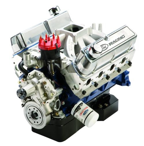BOSS 351W 374 CUBIC INCH 490 HP SEALED RACING ENGINE -- M-6007-S374T